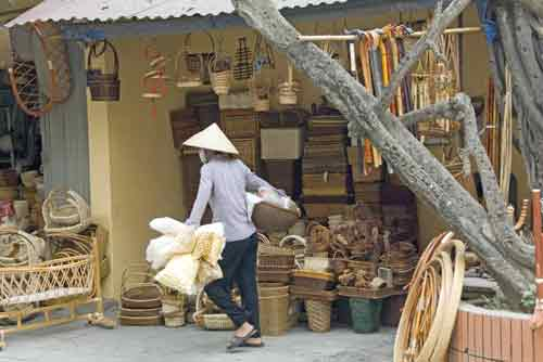 rattan baskets-AsiaPhotoStock