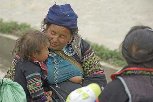 hmong breast feeding-AsiaPhotoStock