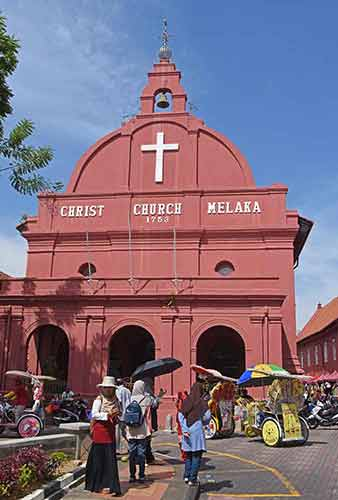 christ church melaka-AsiaPhotoStock