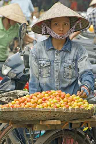 fruit hawker-AsiaPhotoStock
