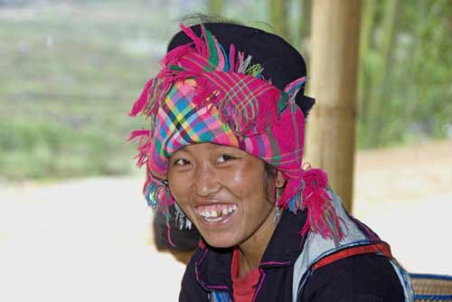 happy hmong smile-AsiaPhotoStock