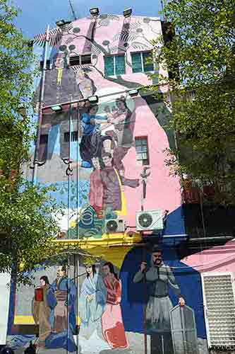 large mural malacca-AsiaPhotoStock