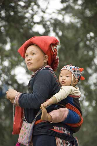 dzao mother and child-AsiaPhotoStock