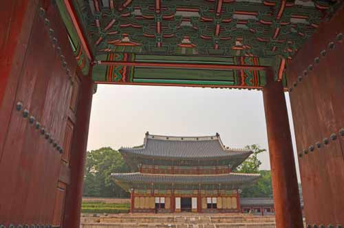 Changdeokgung framed-AsiaPhotoStock