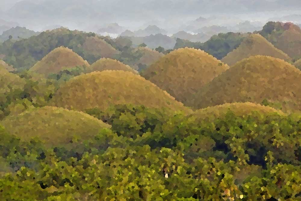 chocolate hills-AsiaPhotoStock