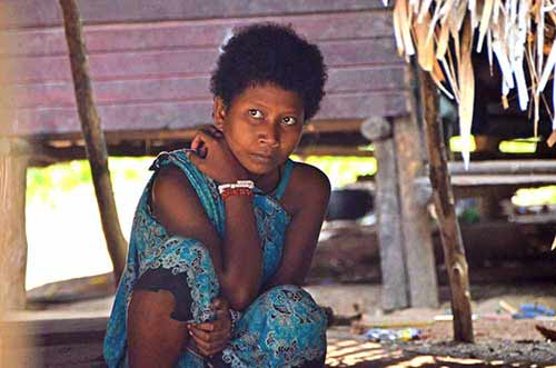 orang asli at home-AsiaPhotoStock