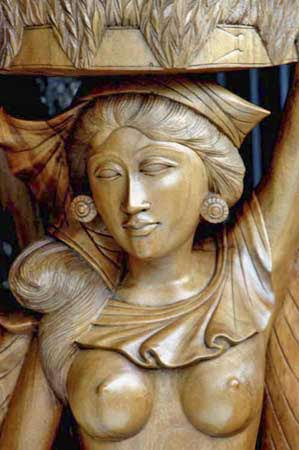wooden carving bali-AsiaPhotoStock