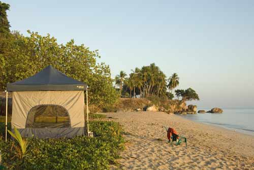 beach tent-AsiaPhotoStock