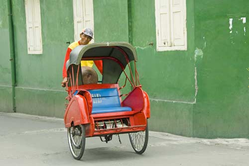 becak wall-AsiaPhotoStock