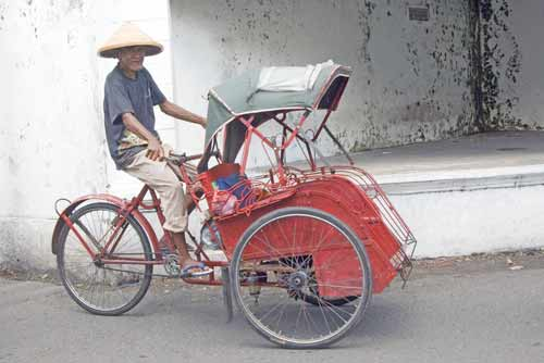 becak solo-AsiaPhotoStock