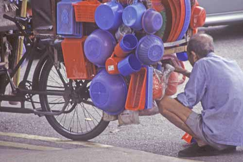 bicycle hawker-AsiaPhotoStock