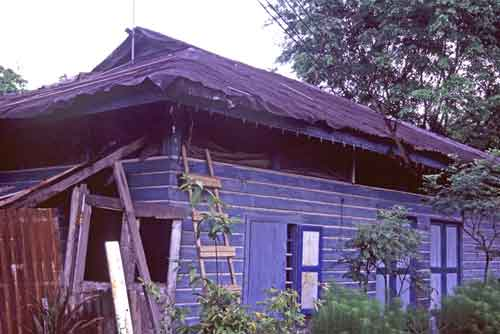 blue kampong house-AsiaPhotoStock