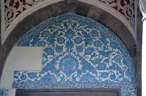 blue mosque tiles-AsiaPhotoStock