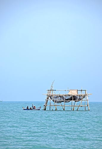 boat at kelong-AsiaPhotoStock