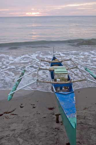 boat on beach bauang-AsiaPhotoStock