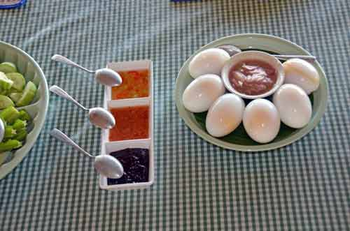 boiled duck eggs-AsiaPhotoStock