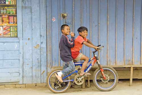 boys on bikes-AsiaPhotoStock
