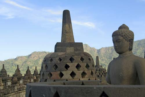 buddha at borobudur-AsiaPhotoStock