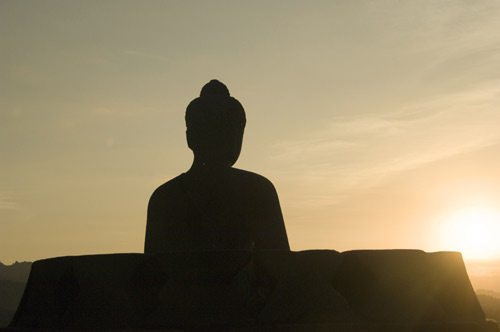 buddha sunset-AsiaPhotoStock