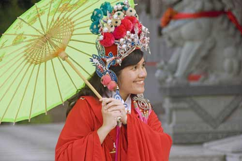 chinese dress-AsiaPhotoStock