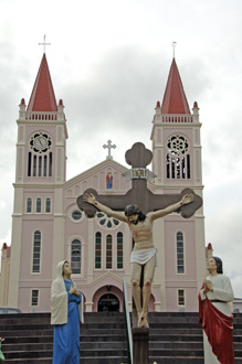 baguio cathedral-AsiaPhotoStock