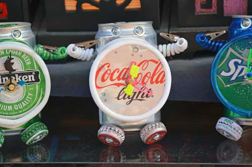 clocks from cans-AsiaPhotoStock
