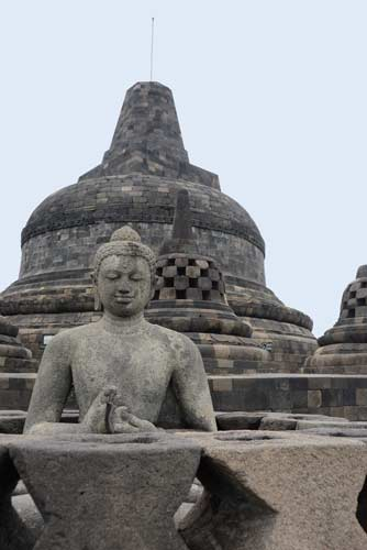 close borobudur-AsiaPhotoStock