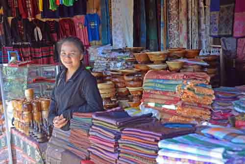 cloth seller-AsiaPhotoStock