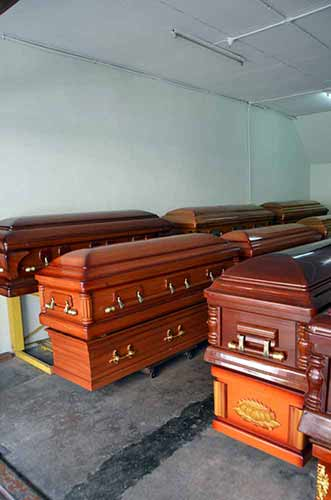 coffins kuching town-AsiaPhotoStock