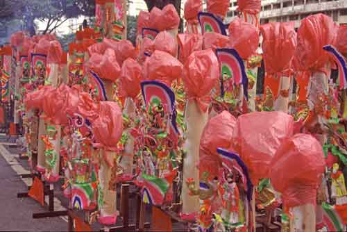 covered joss sticks-AsiaPhotoStock