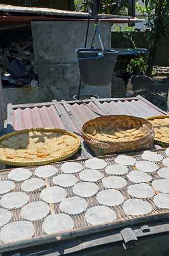 crackers drying in bali-AsiaPhotoStock