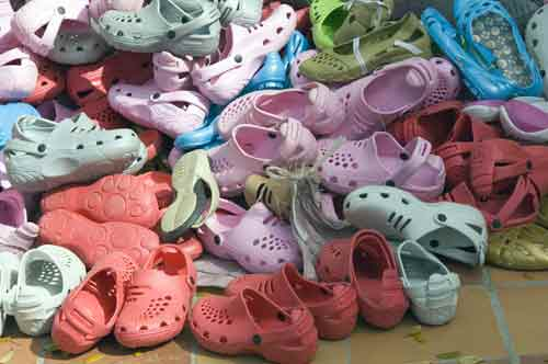 crocs shoes-AsiaPhotoStock