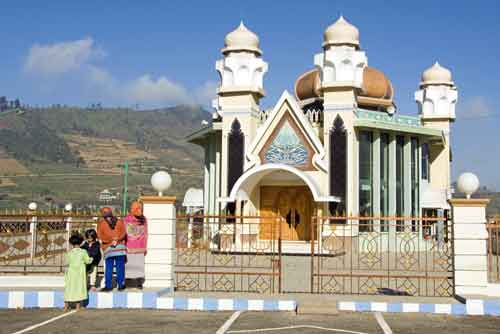 dieng new mosque-AsiaPhotoStock