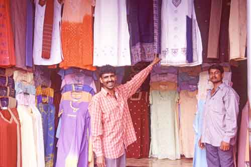 clothes stall-AsiaPhotoStock