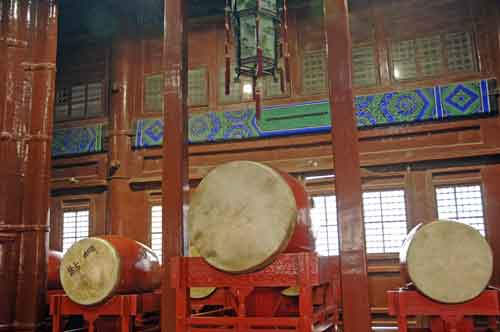drums in drum tower-AsiaPhotoStock
