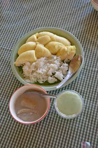 durian and sticky rice-AsiaPhotoStock