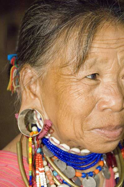 big eared lahu woman-AsiaPhotoStock