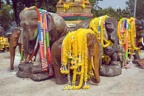 elephant shrine-AsiaPhotoStock