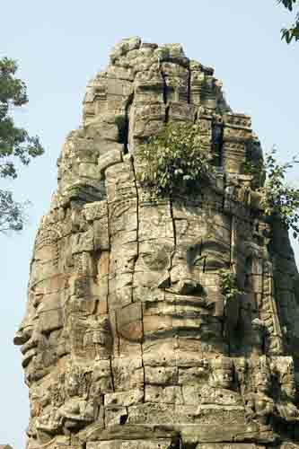 faces bayon-AsiaPhotoStock