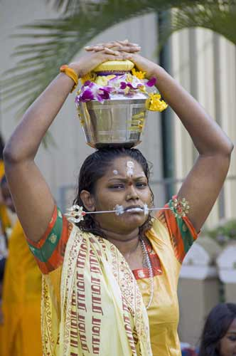 female at thaipusam-AsiaPhotoStock