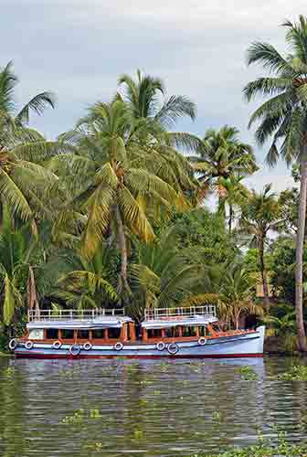 ferry alleppey-AsiaPhotoStock