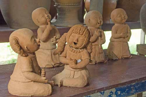 figurines from clay-AsiaPhotoStock