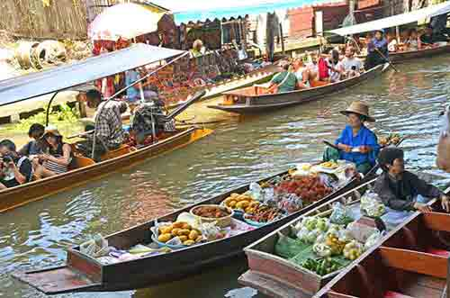 floating market-AsiaPhotoStock