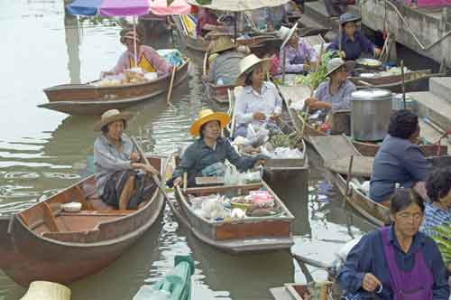floating markets-AsiaPhotoStock