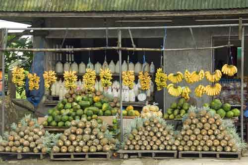 roadside fruit stall-AsiaPhotoStock