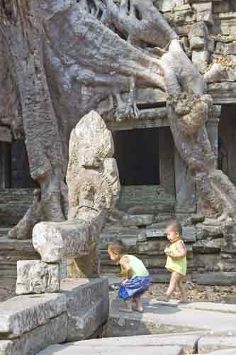 games amid angkor-AsiaPhotoStock