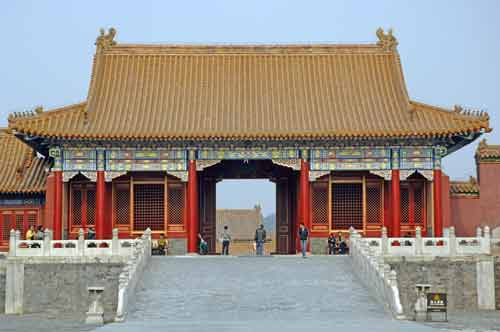 forbidden city courtyard-AsiaPhotoStock