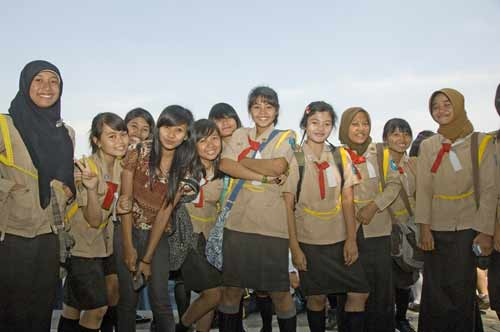 girl guides indonesia-AsiaPhotoStock
