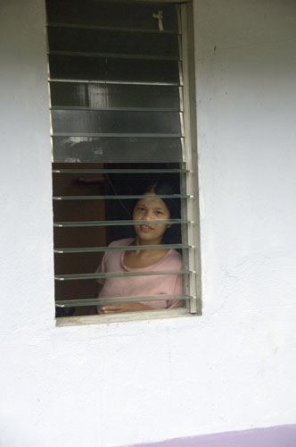 mangyan at window-AsiaPhotoStock