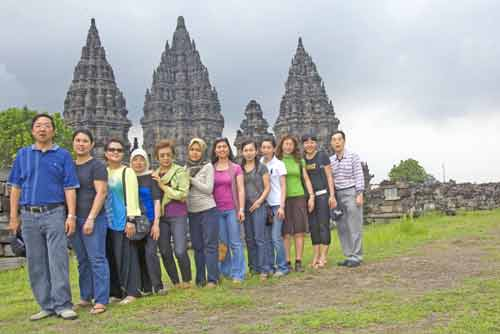 group shot prambanan-AsiaPhotoStock
